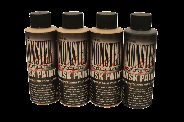 Tinta para pintura em Látex - 4 cores