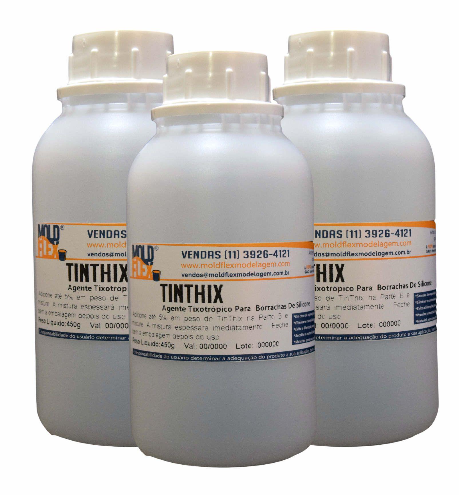 TinThix - Espessante Tixotrópico para Silicone TinSil e PlatSil