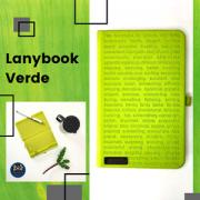 Caderneta Lanybook Verde