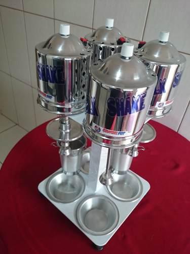 Maquina Batedor De Milk Shake Sd 2014 4x1balcão 750 W 110volt  - controlpot Maquinas e Batedores Milk Shake