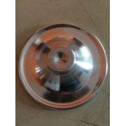 Copo De Aluminio P/ Batedores De Milk Shake C/tampa 600 Mls