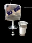 Maquina Milk Shake Industrial Cm 2014 750 Watts 18000 Rpm c/ copo PRATA