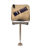 Maquina Milk Shake Industrial Cm 2014 750 Watts 18000 Rpm PRATA