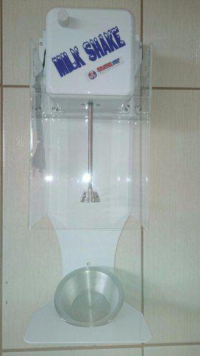 Maquina Milk Shake Cm 2014 900wat Com Suporte Anti Respingos  - controlpot Maquinas e Batedores Milk Shake