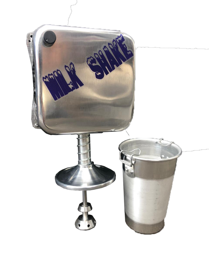 Maquina Milk Shake Industrial Cm 2014 1200 Watts 18000 COM COPO  PRATA  - controlpot Maquinas e Batedores Milk Shake