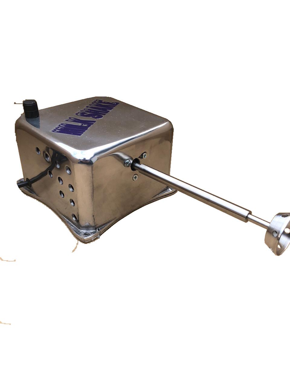 Maquina Milk Shake Industrial Cm 2014 750 Watts 18000 Rpm PRATA   - Controlpot Maquinas e Batedores Milk Shake e Furador de Côco