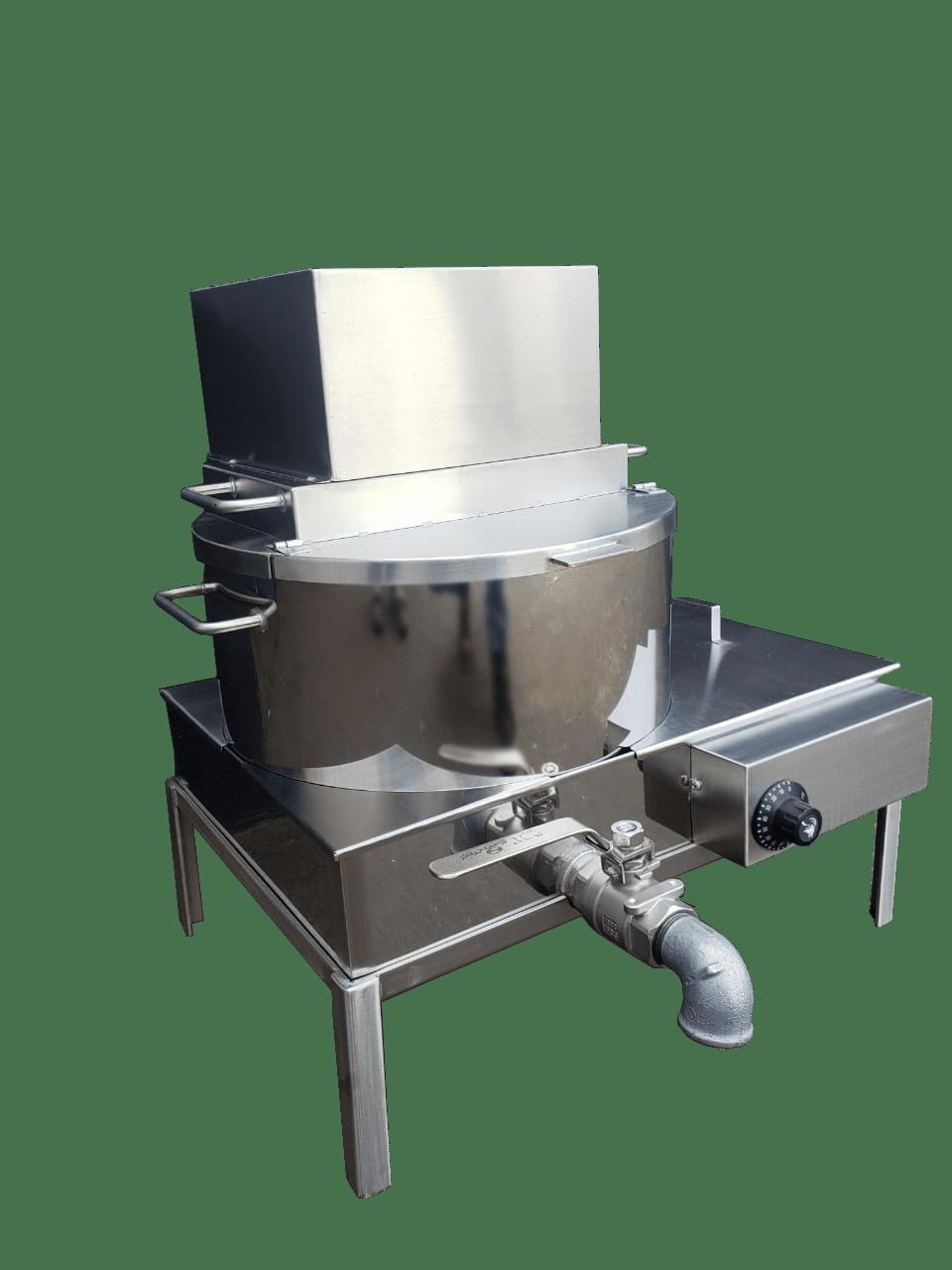Pn2021 Super Panela Industrial Para Banho Maria 26 Litros  - Controlpot Maquinas e Batedores Milk Shake e Furador de Côco