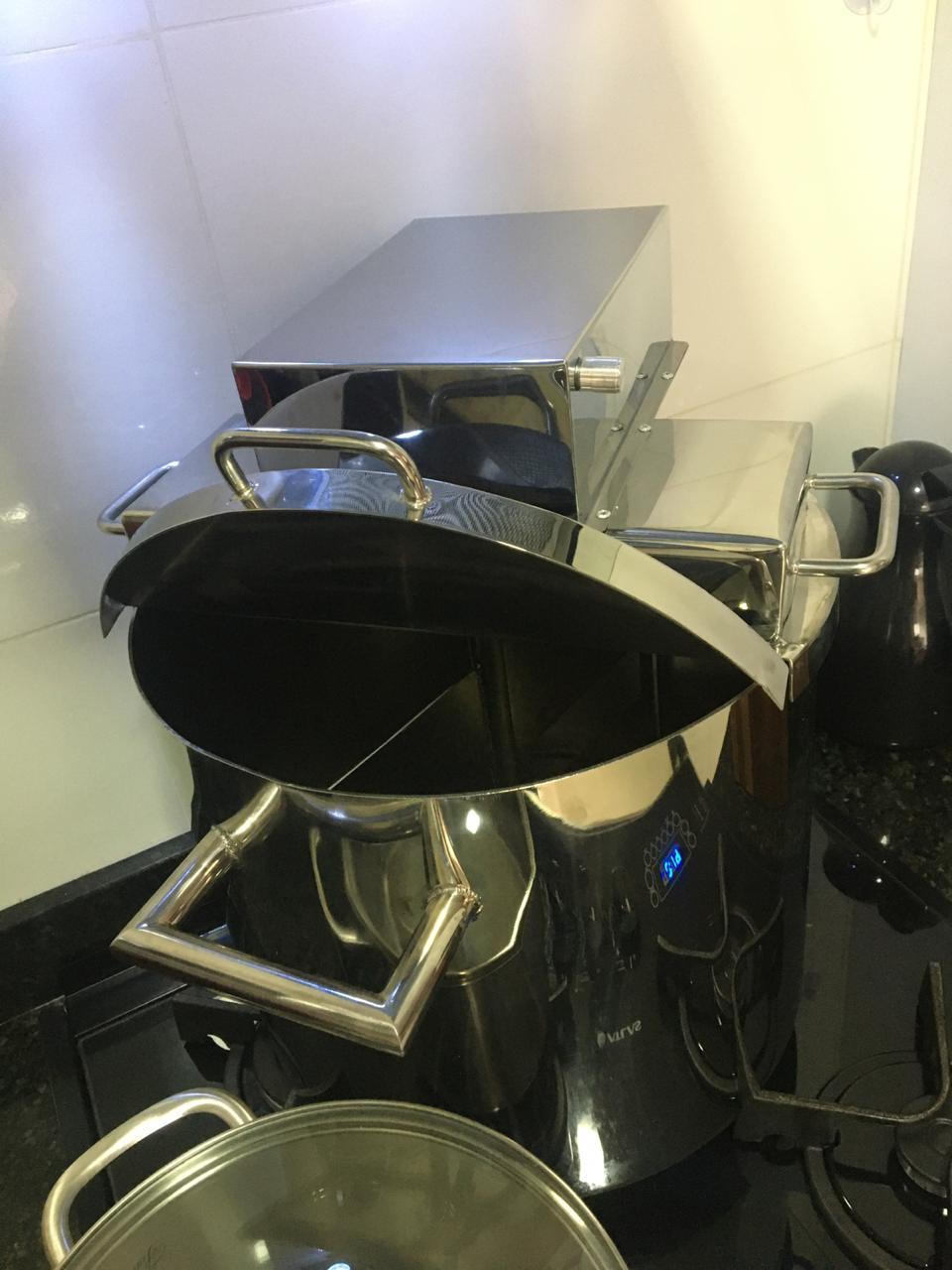 Pn5553 Super Panela Industrial Para Polenta E Doces 8litros  - Controlpot Maquinas e Batedores Milk Shake e Furador de Côco