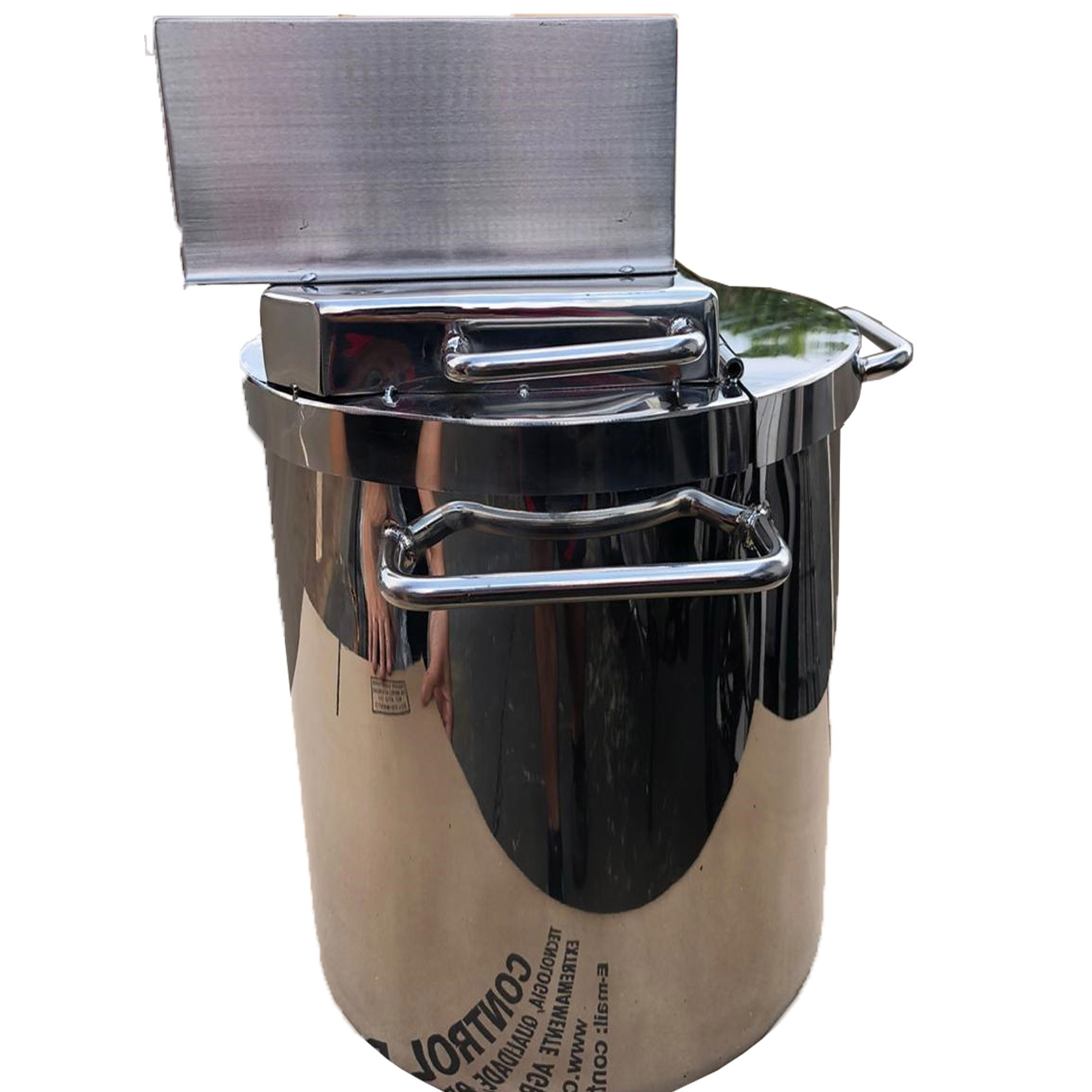 Pn5554 Super Panela Industrial Para Polenta E Doces 14litros  - Controlpot Maquinas e Batedores Milk Shake e Furador de Côco
