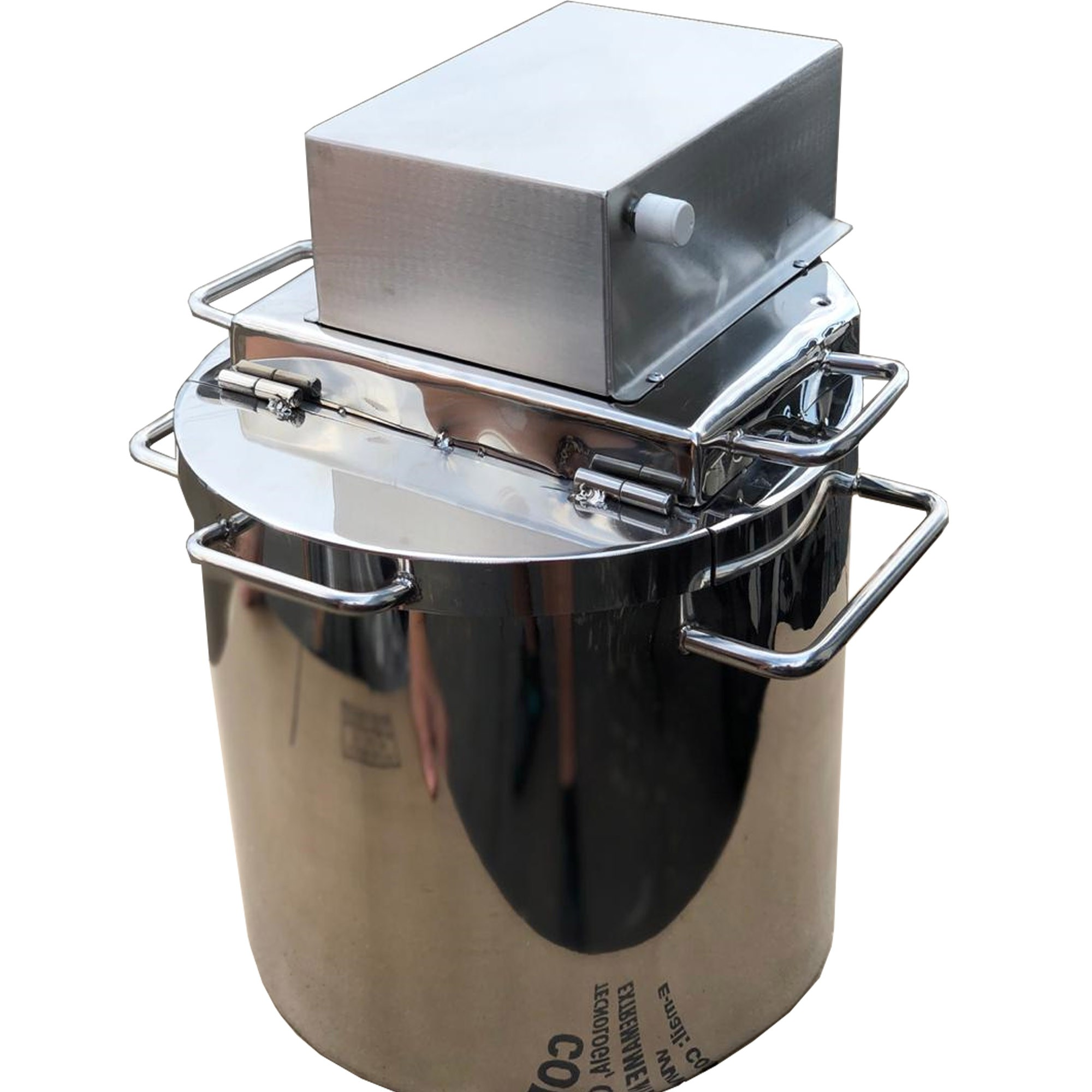 Pn555 Super Panela Industrial Para Polenta E Doces 26litros  - Controlpot Maquinas e Batedores Milk Shake e Furador de Côco