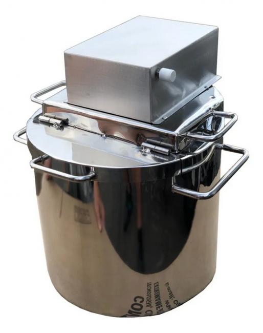 Pn5556 Super Panela Industrial Para Pós E Liquidos 90 Litros  - Controlpot Maquinas e Batedores Milk Shake e Furador de Côco