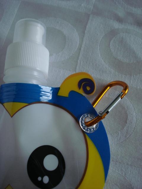 Garrafa De Água Dobrável Abelha Flexível Reutilizável  - Presente Presente
