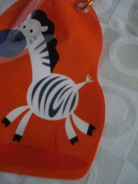 Garrafa De Água Dobrável Zebra Flexível Reutilizável  - Presente Presente
