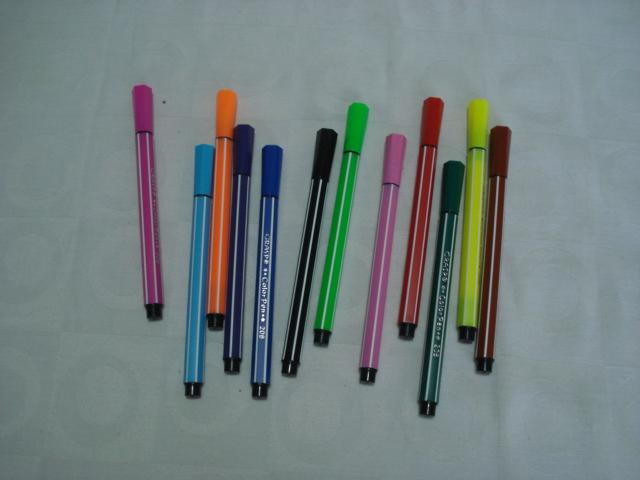Conjunto 12 Canetas Color Pen Aihao Canetinhas  - Presente Presente