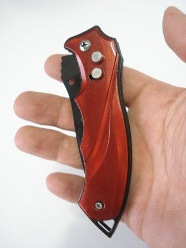 Canivete Automático Red Tail Com Trava E Clip   - Presente Presente