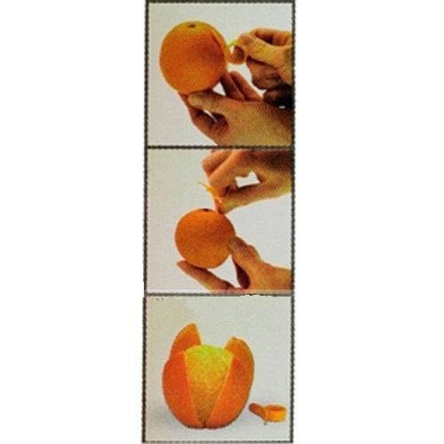 Descascador De Frutas Laranja E Limão 2 Peças  - Presente Presente