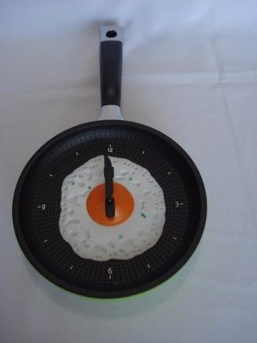 Relógio De Parede - Frigideira Ovo Frito  - Presente Presente