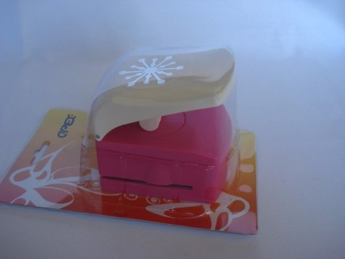 Furador Perfurador Scrapbook Frozen Floco De Neve Corte 5cm  - Presente Presente