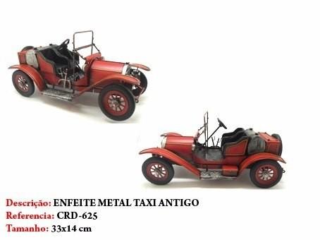 Carrinho Metal Decoração Calhambeque Vintage  - Presente Presente