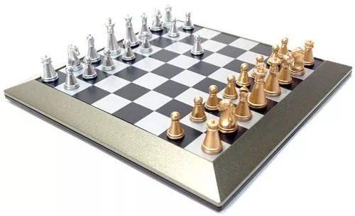 Jogo De Xadrez Magnetico 19 X 19 Mod Dsc02842-1  - Presente Presente