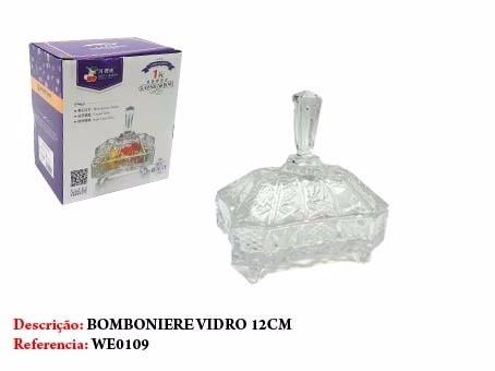 Bomboniere Vidro 12cm  - Presente Presente