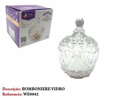 Bomboniere De Vidro 16cm Chocolate Bombom Caixa  - Presente Presente
