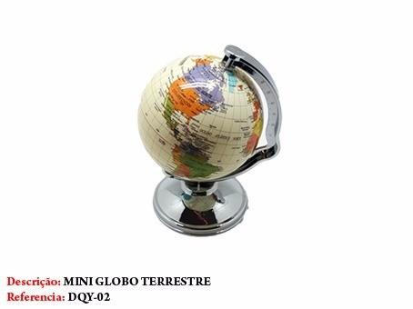 Globo Terrestre Giratório Escolar Mapa Atlas Amarelo Dqy-02  - Presente Presente