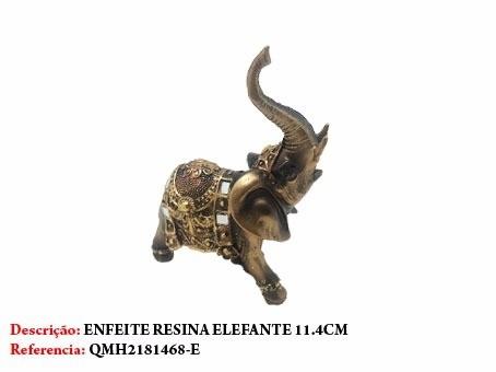 Enfeite Resina Elefante 15cm Decoração Indiano  - Presente Presente