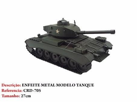 Mini Tanque Canhão Metal Enfeite Decoração Coleção Guerra  - Presente Presente