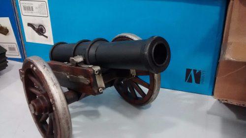 Mini Canhão Metal Enfeite Decoração Coleção  - Presente Presente