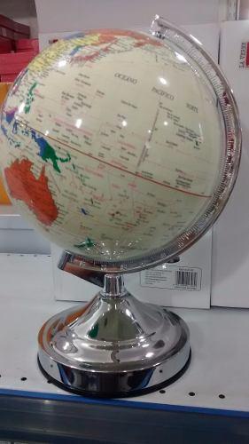 Globo Terrestre 31x25cm Luxo Cx Presente Promoção  - Presente Presente