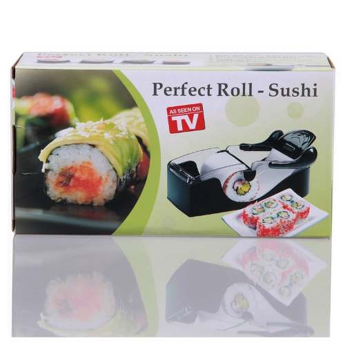 Máquina Manual Para Enrolar Fazer Sushi Top Perfect Roll  - Presente Presente