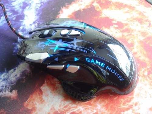 Mouse Gamer 2400 Dpi 8 Botões Led Jogos Precisão Usb  - Presente Presente
