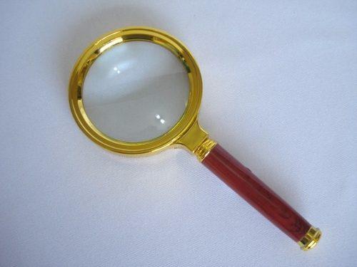 Lupa De Aumento 70mm Luxo Vintage Lente 7cm  - Presente Presente