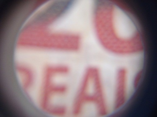 Lupa Joalheiro 2 Lentes Led Uv 25mm 25x E 14mm 50x Testa Not  - Presente Presente