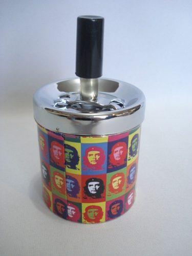 Cinzeiro Che Guevara Decoração Metal Cigarro  - Presente Presente