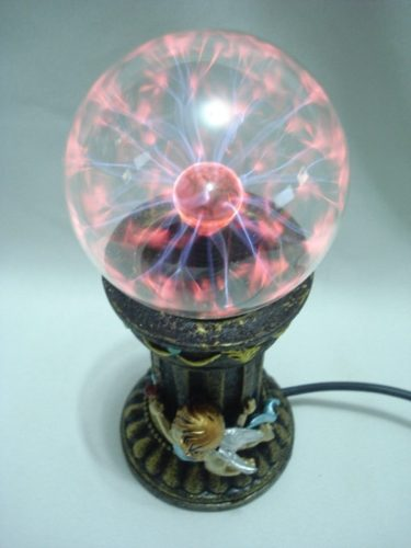 Globo De Plasma Cupido Casal Sphere Bola Cristal Anjo  - Presente Presente