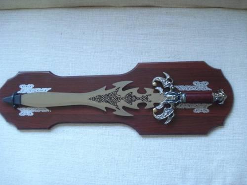 Espada Guerreiro Decorativa Ornamental 66cm Dj11415  - Presente Presente