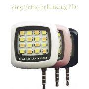 Luz De Selfie Led Luz Auxiliar Fotografia Blog Maquiagem