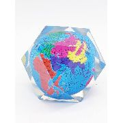 13 Peças Peso Papel Globo Terrestre Mapa Mundi 5cm Enfeite