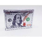 Baralho Prateado Silver Folheado Poker Truco Cartas Jogos