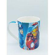 Caneca Porcelana Os Vingadores Coleção Presente Thor Hulk