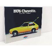 Placa Metal Carro Vintage Chevette 1976 27x20cm Coleção Anúncio com variação