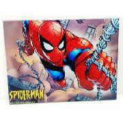 Placa Metal Homem Aranha 27x20cm Coleção Spider Man Teia Anúncio com variação