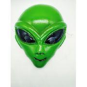 Mascara Alien Green Festa Fantasia Haloween Verde Anúncio com variação