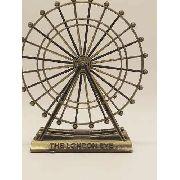 Miniatura Roda Gigante Londres London Eye Decoração Metal