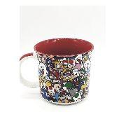 Caneca Porcelana Personagens Super Mario Bros Zona Criativa