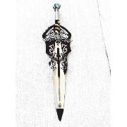 Espada Medieval Dragão Pedra Azul Cosplay Pfl16223