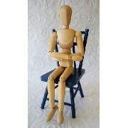 Boneco Articulado Manequim 30cm