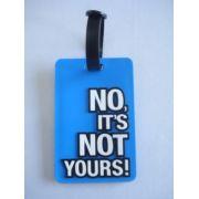 Chaveiro Identificação De Malas No Its Not Yours Azul